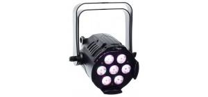 Ignition LED Mini Studio Par RGB 7x3W